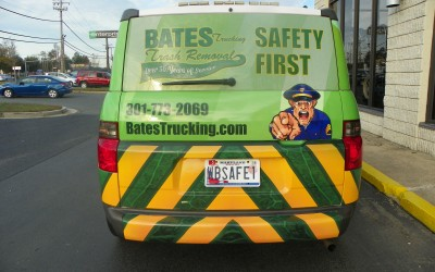 Bates Trucking Safety Unit Wrap