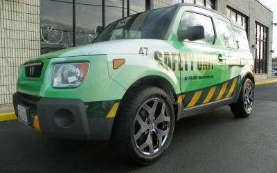Bates Trucking Safety Unit Wrap
