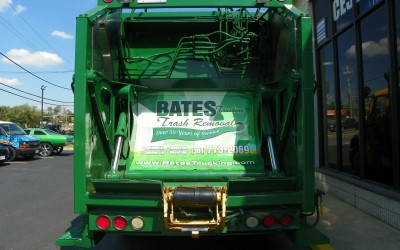 Bates Trucking Show Truck Wrap