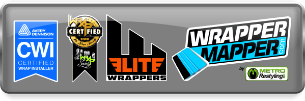 Networks - Avery Certified, The Wrap Society Certified, Elite Wrappers, Wrapper Mapper, Metro Restyling